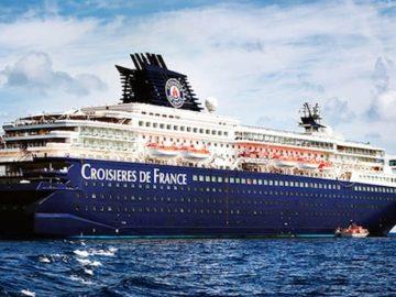 Die Horizon im CDF-Look - Ab 2017 wird sie wieder für Pullmantur Cruises fahren / © CDF