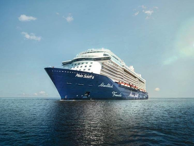 Mein Schiff 6 Taufe in Hamburg im Juni 2017 / © TUI Cruises