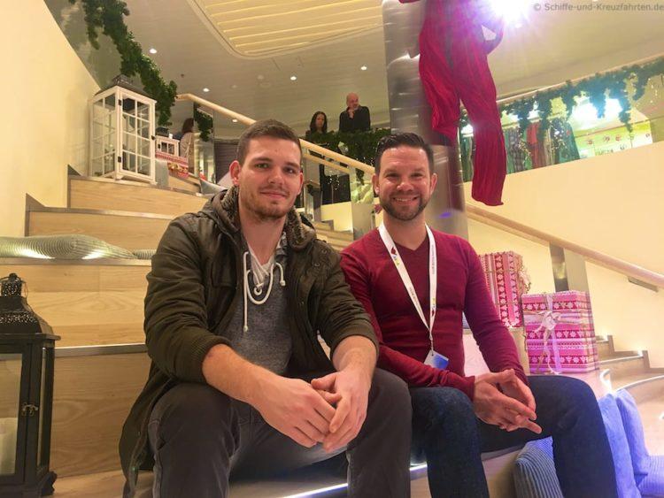 AIDA Clubbotschafter 2017 Sascha Meyer & Me