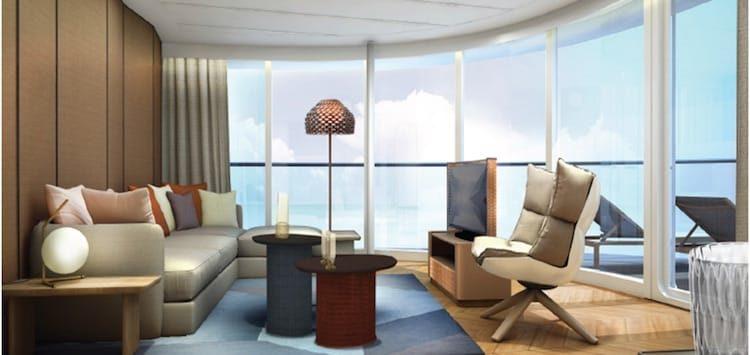 Panorama Suite - Neue Mein Schiff 1 / © TUI Cruises