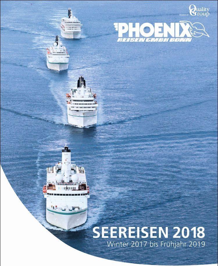 Phoenix Seereisen Katalog 2018 / © Phoenix Reisen