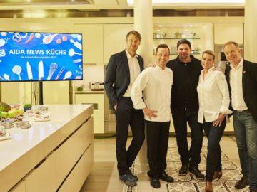 AIDA Starköche der Kulinarikevents 2017 / © AIDA Cruises