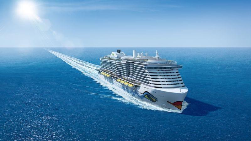 AIDAnova - der erste AIDA LNG Neubau von der Meyer Werft / © AIDA Cruises