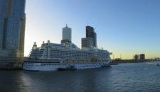 AIDAprima Umroutung: 2 Overnights in Rotterdam, Zeebrügge fällt aus am 11. Januar