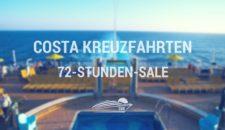 Costa 72 Stunden Angebote –  Oktober 2017