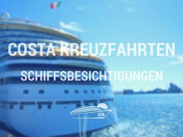 Costa Kreuzfahrten Schiffsbesichtigungen