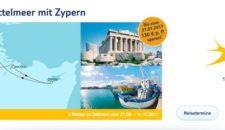 Mein Schiff 1 östliches Mittelmeer mit Zypern