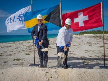 MSC Kreuzfahrten feiert Spatenstich für Privatinsel Ocean Cay / © MSC Kreuzfahrten