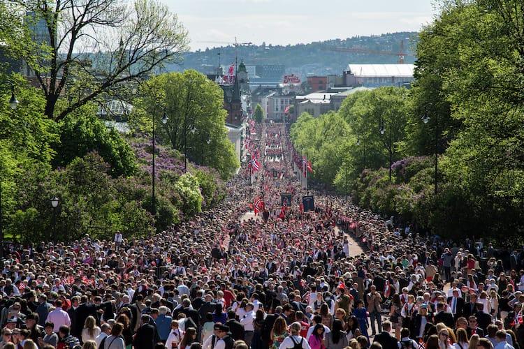 Norwegischer Nationalfeiertag / © Color Line