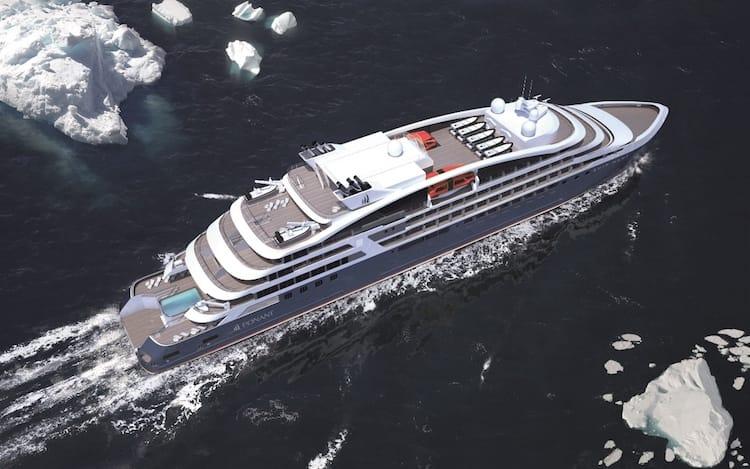 So sehen die neuen Luxus-Expeditionsschiffe aus / © Ponant