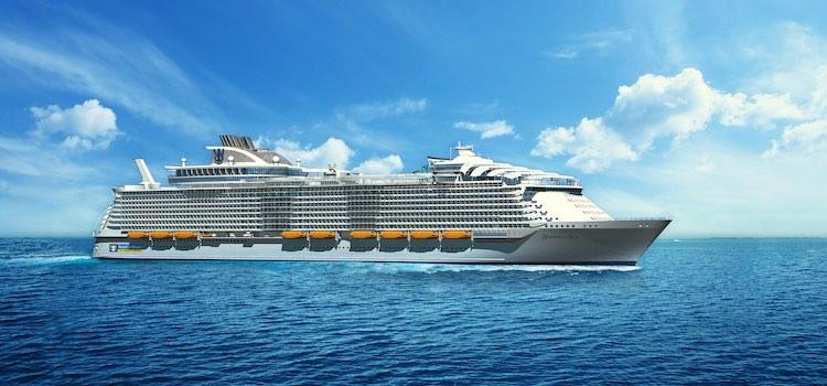 Symphony of the Seas - das größte Schiff der Welt / © Royal Caribbean
