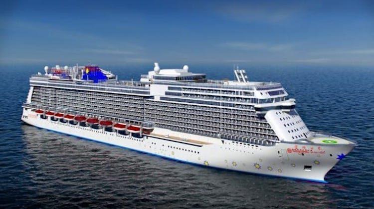 World Dream für Genting Cruises / © Meyer Werft