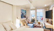 AIDAnova bekommt Einzelkabinen, Familienkabinen und Penthouse Suiten