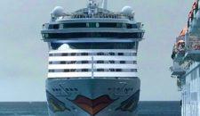 AIDAluna: Von Kiel nach New York