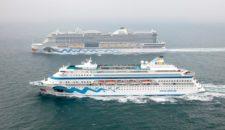 AIDA Cruises: AIDAcara und AIDAprima gemeinsam auf hoher See