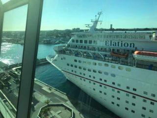 Die Carnival Elation im Hafen von Nassau