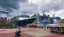St. Maarten Kreuzfahrtschiffe: Sechs Schiffe mit 18719 Passagieren im Hafen