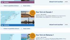 Mein Schiff 6 New York Reisen nicht mehr buchbar!