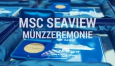 MSC Seaview Münzzeremonie in Monfalcone