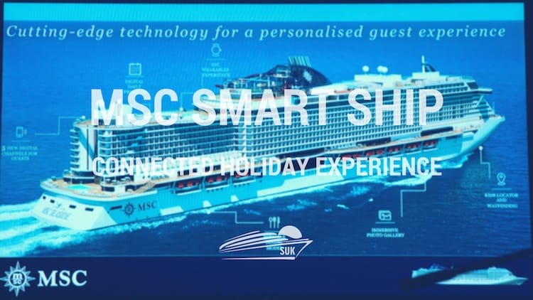 MSC Smart Ship Technologie