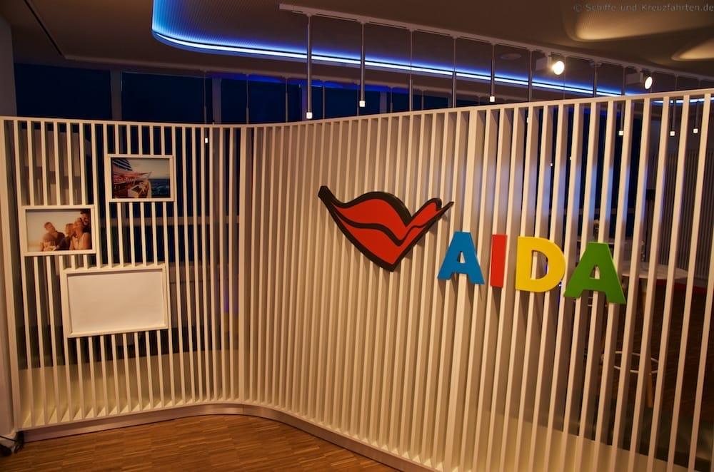 AIDA Lounge im Besucherzentrum der Meyer WerftAIDA Lounge im Besucherzentrum der Meyer Werft