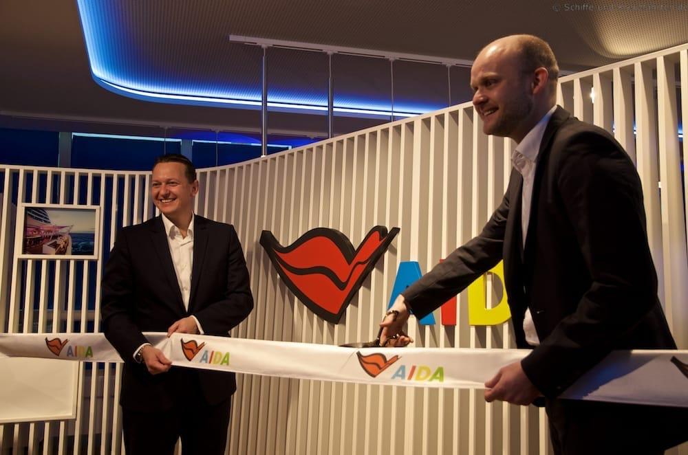 Eröffnung der AIDA Lounge im Meyer Werft Besucherzentrum