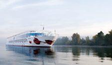 """Feuer: Flusskreuzfahrtschiff """"A-Rosa Riva"""" brennt auf der Donau"""