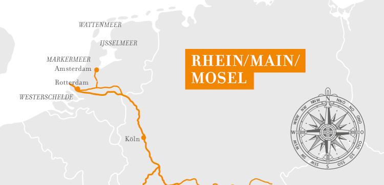 A-Rosa Rhein Kurz-Kreuzfahrt Amsterdam und Rotterdam ©A-Rosa Flussschiff