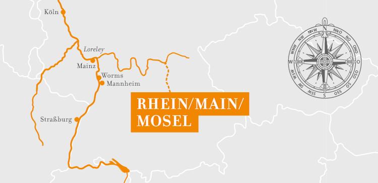 A-Rosa Rhein Kurzkreuzfahrt Romantik ©A-Rosa Flussschiff