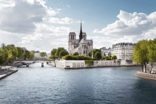 Notre Dame erleben auf A-Rosa Seine Kreuzfahrten / © A-Rosa Flussschiff