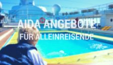 AIDA Single-Reisen für Alleinreisende zum Schnäppchenpreis