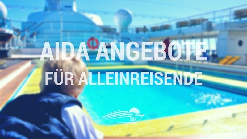 AIDA Angebote für Alleinreisende