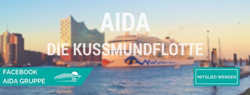 Werde Mitglied in der AIDA Facebook-Gruppe