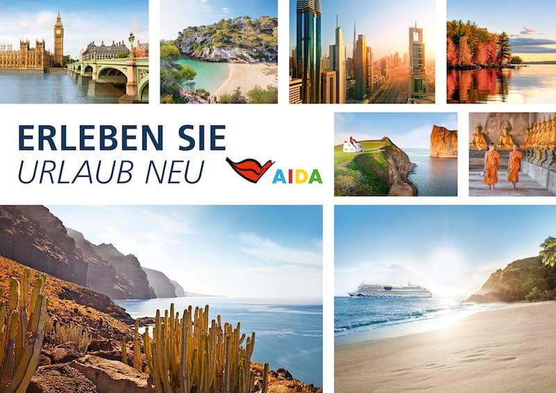 AIDA Katalog für den Sommer 2018 ist ab 14. März 2017 buchbar / © AIDA Cruises