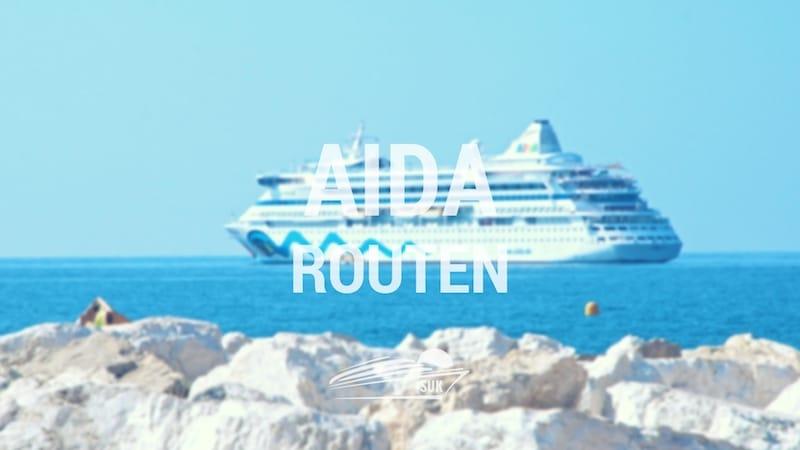 AIDA Routen - Alle AIDA Reiseziele auf einen Blick