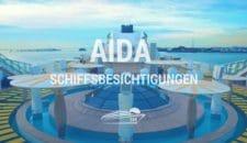 AIDA Schiffsbesichtigungen 2017