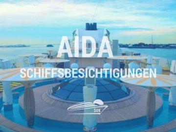 AIDA Schiffsbesichtigungen