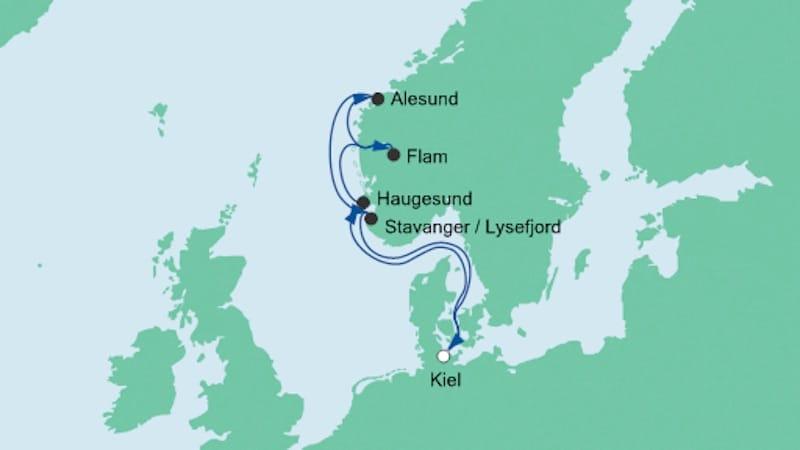 AIDAbella - Norwegen ab Kiel 6 / © AIDA Cruises