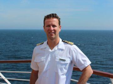 Alessandro Zanello wird Master auf der Silver Muse und damit der jüngste Kapitän der Firmengeschichte von SIlversea Cruises / © SIlversea
