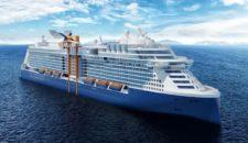 Celebrity Edge wurde offiziell an Celebrity Cruises übergeben