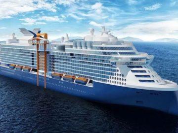 So sieht die neue Celebrity Edge aus / © Celebrity Cruises