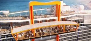 Celebrity Edge: Magic Carpet / © Celebrity Cruises
