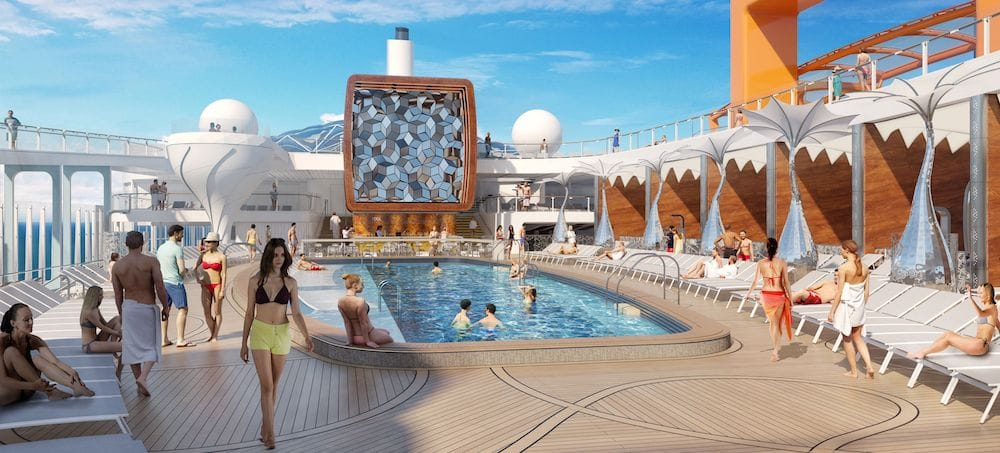 Celebrity Edge: Pool Deck / © Celebrity Cruises