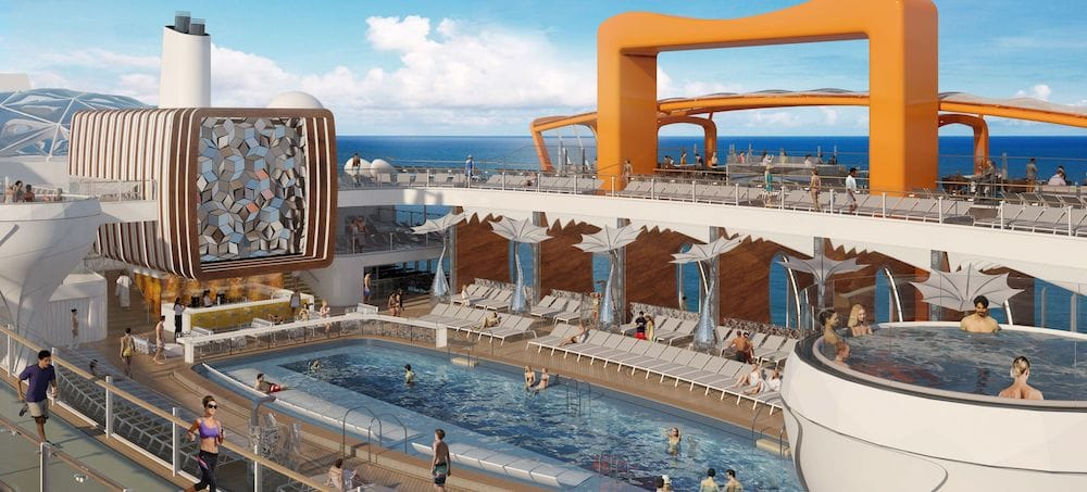 Celebrity Edge: Resort Deck / © Celebrity Cruises