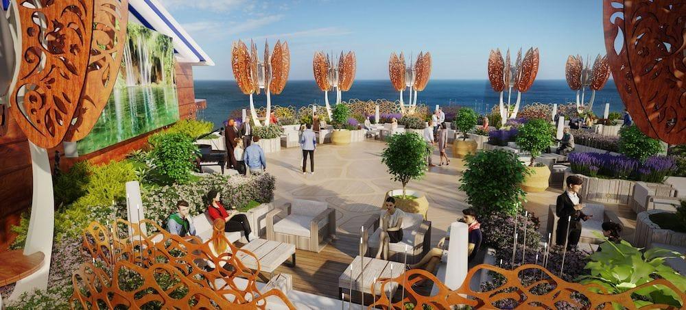 Celebrity Edge: Rooftop Garden / © Celebrity Cruises
