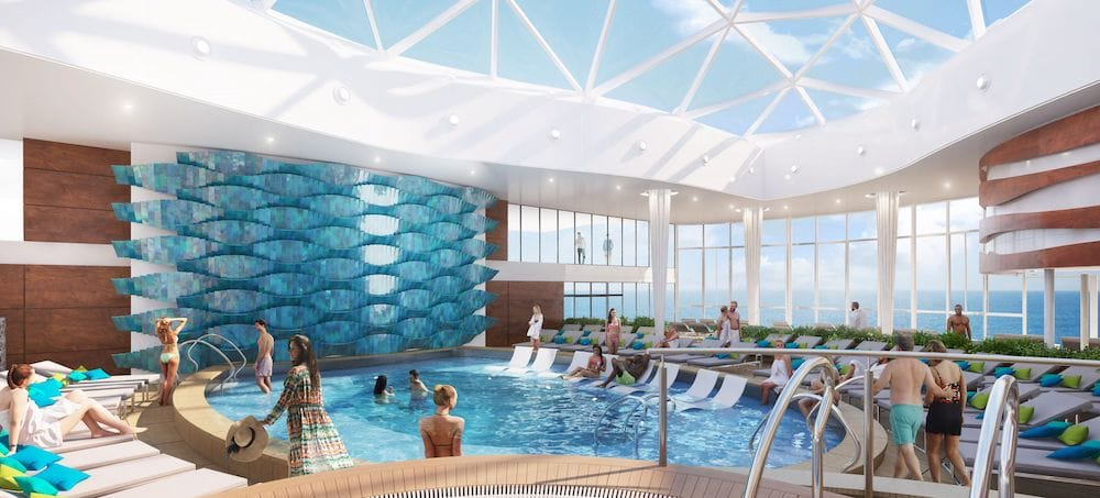 Celebrity Edge: Solarium / © Celebrity Cruises