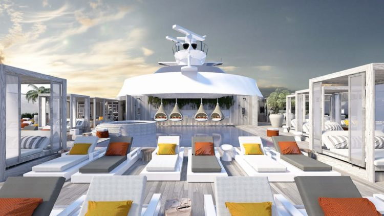 "Celebrity Edge: Sonnendeck ""The Retreat"" / © Celebrity Cruises"