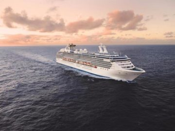 Coral Princess auf See / © Princess Cruises