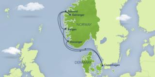 Disney Magic Norwegen Kreuzfahrt © Disney Cruise Line