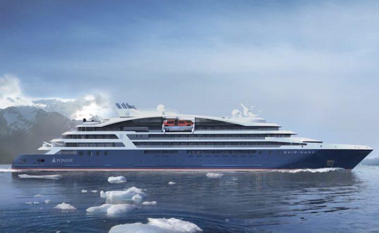 Le Champlain - die neue Luxusyacht von Ponant